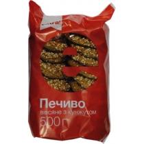 Печенье Extra! Овсяное с кунжутом