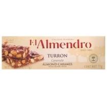 Туррон El Almendro с карамелью и кунжутом