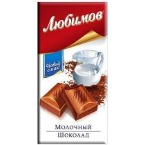 Шоколад Любимов молочный