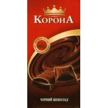 Шоколад Корона черный без дополнений