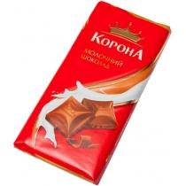 Шоколад Корона молочный без дополнений
