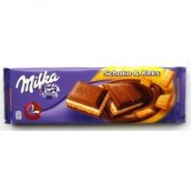 Шоколад Milka крем-печенье