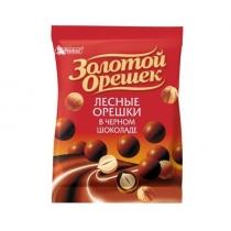 Драже Золотой орешек черный шоколад, 50г