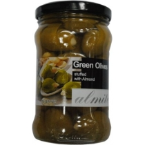 Оливки Almito Королевские зеленые фаршир.миндалем