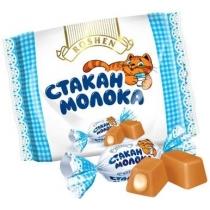 Конфеты Roshen Стакан молока с молочной начинкой