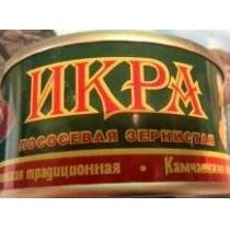 Икра лососевая зернист Камчатская традиционная ж/б