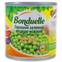 Горошек зеленый Bonduelle экстра-нежный ж/б