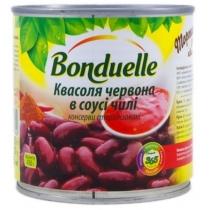 Фасоль Bonduelle красная в пикантном соусе ж/б