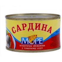 Сардина Море обжаренная в томатном соусе №5, 230г