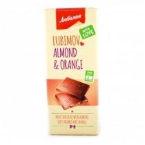 Шоколад Любимов молочный с карамелью, цукатами и орехами 85 г