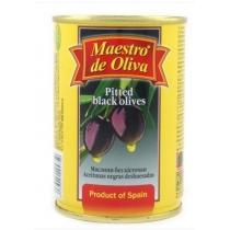 Маслины Maestro de Oliva черные без косточки
