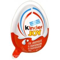 Яйцо шоколадное Kinder Джой с сюрпризом