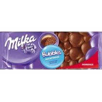 Шоколад молочный Milka Bubbles пористый 80 г
