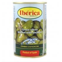 Оливки Iberica с анчоусом, 300г