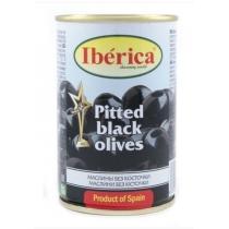 Маслины Iberica черные мини без косточки, 300г