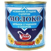 Продукт молокосодерж сгущ Ічня с сахаром 8,5% ж/б