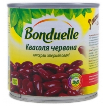 Фасоль Bonduelle красная нежная в соусе ж/б, 400г
