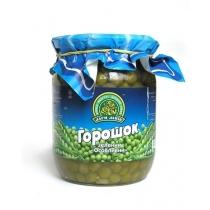 Горошек Дари Ланів зелен консервированн мозг/сорт, 510г