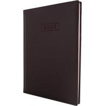 Еженедельник датированный 2017, NEBRASKA , темно-коричневый, А4