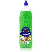 Средство для мытья посуды Зеленый Gold Cytrus 1,5 л