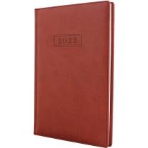 Еженедельник датированный 2017, VIVELLA , коричневый, А5