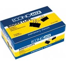 Біндери для паперу 15 мм Economix, 12 шт.