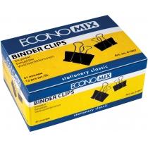 Біндери для паперу 41 мм Economix, 12 шт.