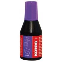 Фарба штемпельна ТМ KORES, фіолетова