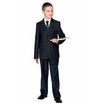 Брюки для мальчика Макс серые 44-48 размер 46