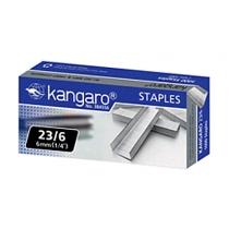 Скобы №23/6 (1000 шт.), Kangaro