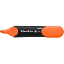 Маркер текстовыделитель SCHNEIDER JOB 1-4,5 мм, оранжевый