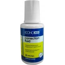 Корректор-жидкость Economix, химическая основа ( E41305 )