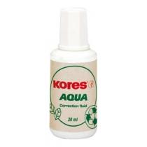 Корректор-жидкость Kores AQUA, водная основа