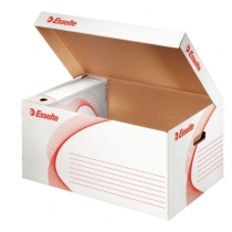 Архивный контейнер Esselte Standard крышка открывается вверх  белый