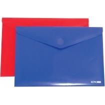 Папка-конверт А4 непрозрачная на липучке