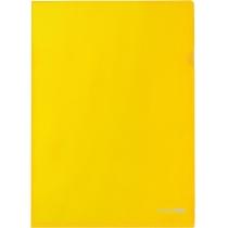 Папка-куточок A4 Economix, жовта