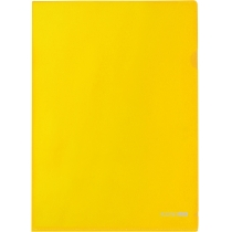 Папка-уголок A4 Economix, желтая
