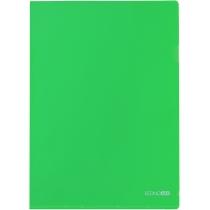 Папка-уголок A4 Economix, зеленая