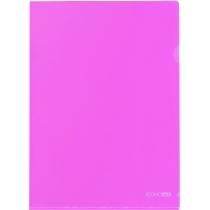 Папка-уголок A4 Economix, розовая