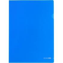 Папка-уголок A4 Economix, синяя