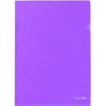 Папка-уголок A4 Economix, фиолетовая