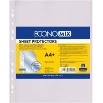 """Файл для документів А4+ Economix, 30 мкм, фактура """"глянець"""" (20 шт/уп)"""