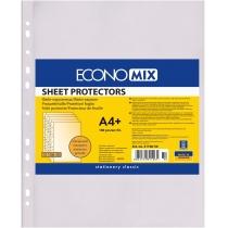 """Файл для документів А4+ Economix, 30 мкм, фактура """"помаранч"""" (100 шт/уп)"""