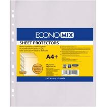 """Файл для документів А4+ Economix, 30 мкм, фактура """"помаранч"""" (20 шт/уп)"""