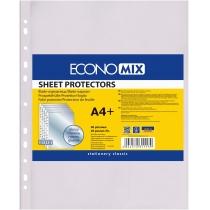 """Файл для документів А4+ Economix, 40 мкм, фактура """"глянець"""" (20 шт/уп)"""