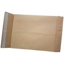 Конверт СКЛ формат C4 коричневый. 120г/м2 -плотность бумаги, сторона расширение 38 мм.