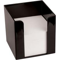 Подставка под бумагу для заметок TM Economix, черная