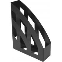 Лоток вертикальний , чорний, з передньою стінкою