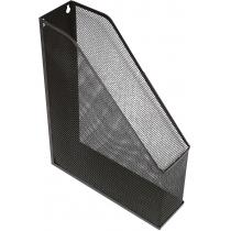 Лоток вертикальний Optima, чорний, металевий