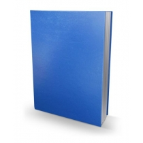 Книга учета ячейка твердый переплет бумвинил 192 листа офсет